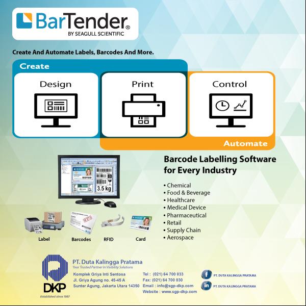 Bartender Seagull - Barcode Software